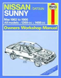 Bilde av Nissan Sunny Petrol (May 82 -