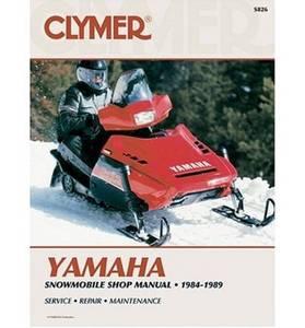 Bilde av Yamaha Snowmobile, 1984-1989