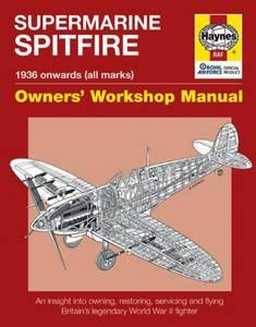 Bilde av Supermarine Spitfire Manual 1936