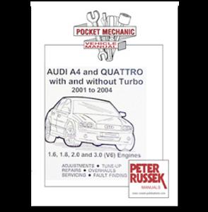 Bilde av Audi A4 & Quattro '01 to '04