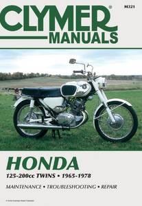 Bilde av Clymer Honda 125-200cc Twins
