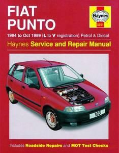 Bilde av Haynes bilbok Fiat Punto Petrol