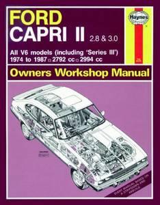 Bilde av Ford Capri II (and III) 2.8 and