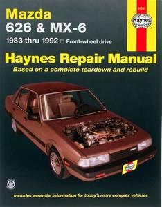 Bilde av Mazda 626 and MX-6 (83-92)