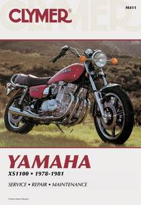 Bilde av Clymer Manuals Yamaha XS1100