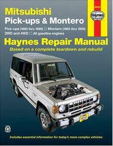 Bilde av Haynes, Mitsubishi Pick-up and