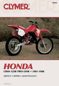 Bilde av Clymer Manuals Honda CR60-125R