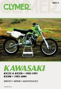 Bilde av Clymer Manuals Kawasaki KX125,