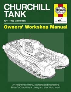 Bilde av Churchill Tank Manual
