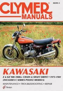 Bilde av Clymer Manuals Kawasaki Z and KZ