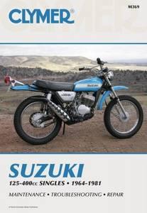 Bilde av Clymer Manuals Suzuki 125-400cc