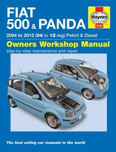 Bilde av Haynes, Fiat 500 & Panda (04-12)
