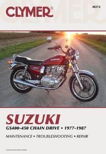 Bilde av Clymer Manuals Suzuki GS400-450